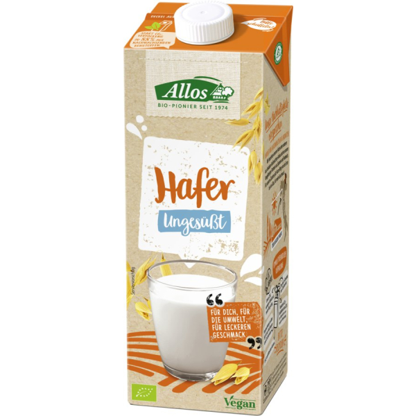 Allos Haferdrink Naturell, Bio, 1 l
