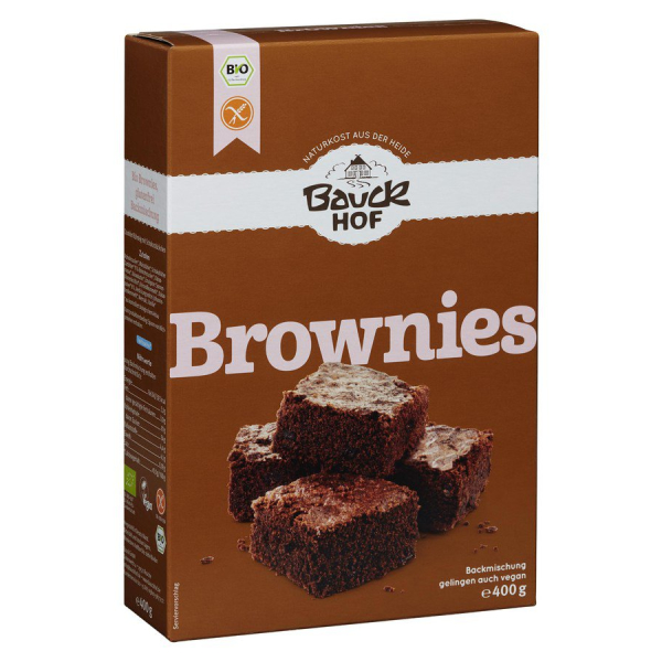 Bauckhof Brownies Backmischung, Bio, 400 g