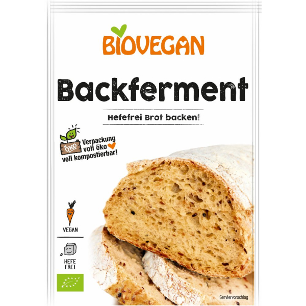 Biovegan Backferment, Bio, 20 g