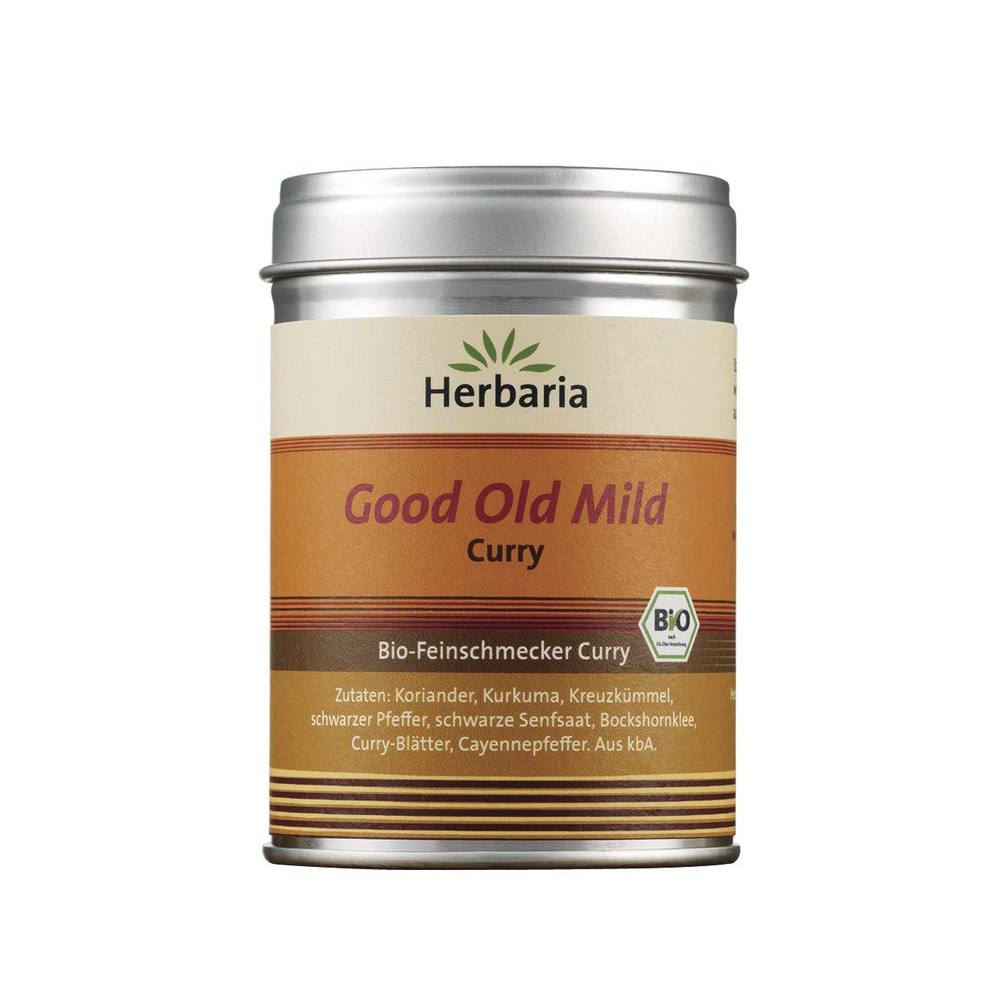 Herbaria Good Old Curry, Bio, 80 g