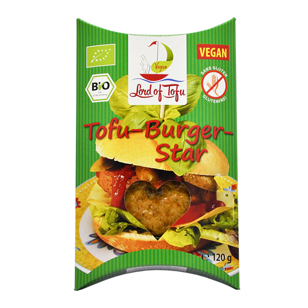 Lord of Tofu Tofu-Burger-Star, Bio, 120 g