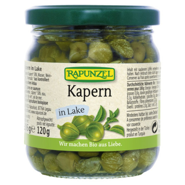 Rapunzel Kapern in Lake, Bio, 206 g