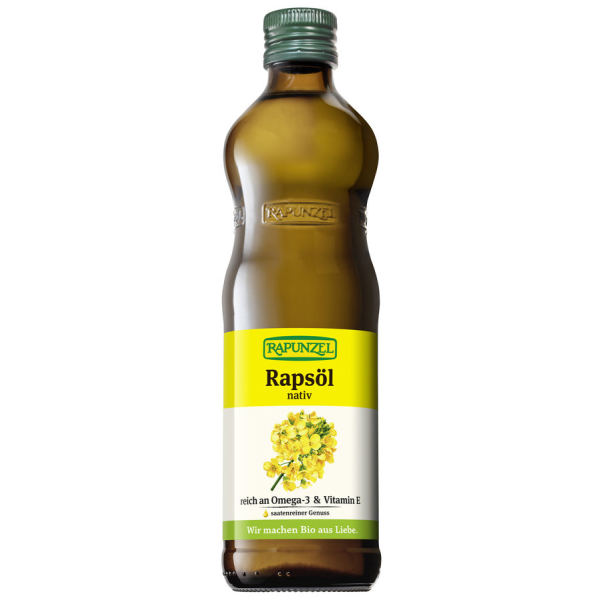 Rapunzel Rapsöl nativ, Bio, 500 ml