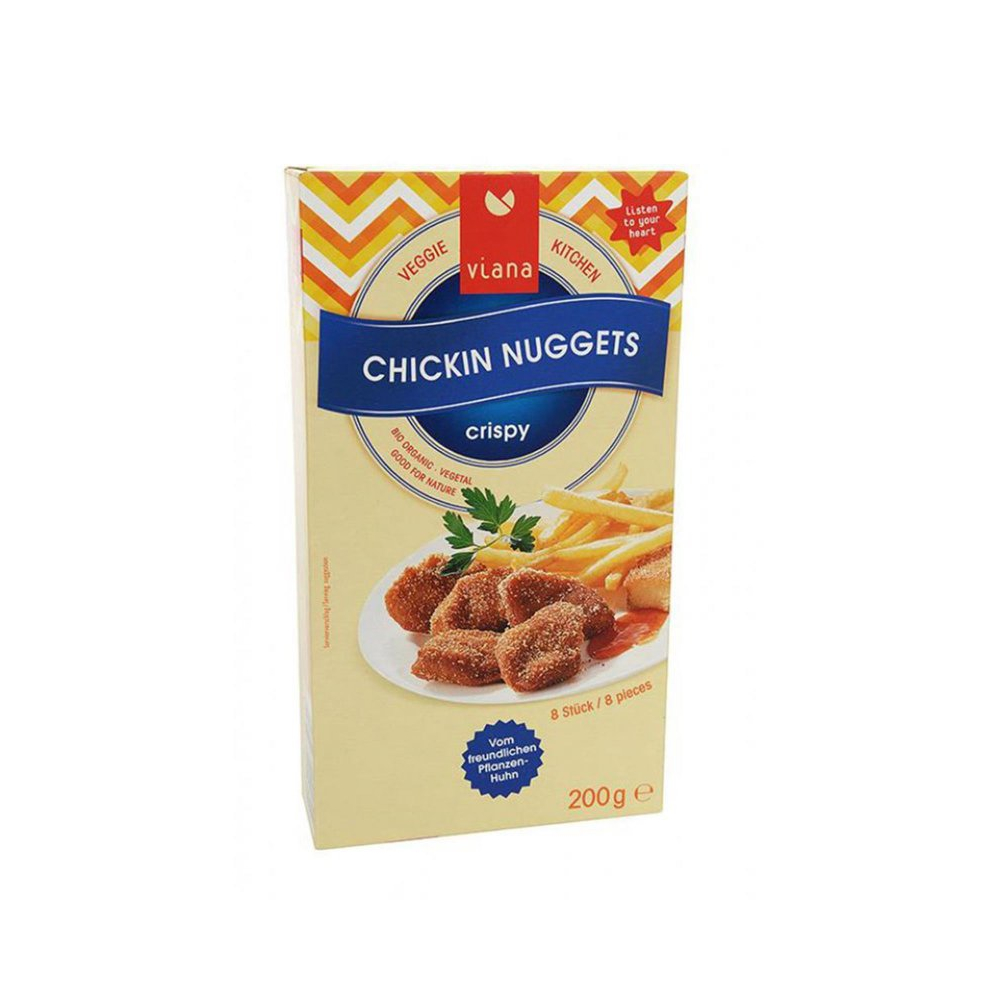 Viana Chickin Nuggets, Bio, 200 g