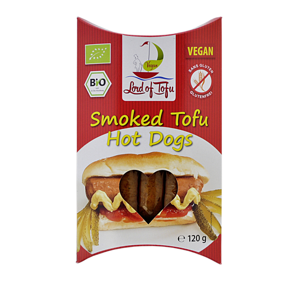 Lord of Tofu Tofu-Hot-Dogs, Bio, 120 g
